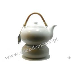 Dzbanek z podgrzewaczem - 1.7 litra - biały - Herbata GRATIS!!!
