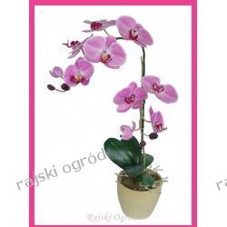 STORCZYK kwiat w doniczce SZTUCZNE KWIATY ozdoba 90cm