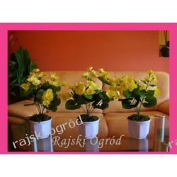 Hydragea żółta - sztuczny kwiat sztuczne kwiaty