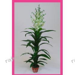 JUKA Z BIAŁYM KWIATEM ~135cm KWIATY SZTUCZNE kwiat
