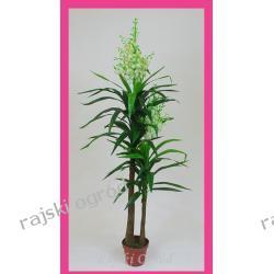 JUKA Z BIAŁYM KWIATEM 180cm sztuczne kwiaty ozdoby