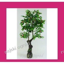 SZTUCZNE DRZEWKO pomarańcza ~175cm drzewko owocowe