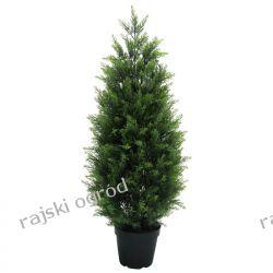 sztuczne drzewko TUJA CYPRYS BRABANT 90cm kwiat