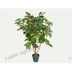 sztuczne drzewko CYTRYNA 120cm sztuczne owoce