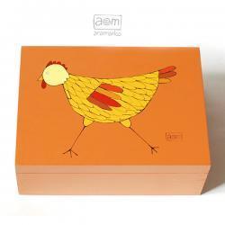 herbatnica - kura pomarańczowa