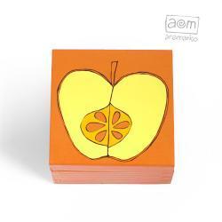 pudełeczko - pomarańczowe jabłuszko