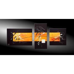 """Obrazy nowoczesne """"cosmic orange""""  Akryl"""