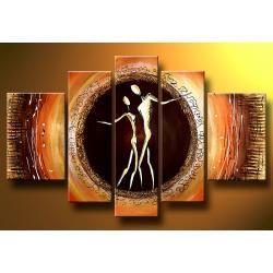 """""""eternal love"""" obrazy nowoczesne ręcznie malowanyna płótnie Akryl"""