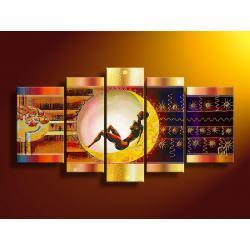 obrazy nowoczesney nowoczesne- komplet  Akryl