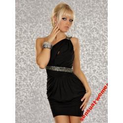 Sensualwomen Sukienka Mini Czarna 36