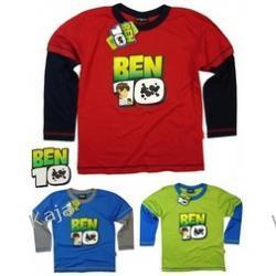 BEN- 10 - odjazdowa bluzka dla chłopca - 43638-B