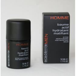 Aktywny balsam nawilżająco-matujący MEN Academie- Baume actif hydratant matifiant