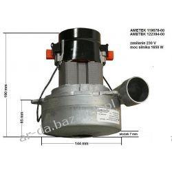 Silnik ssący AMETEK 230 V / 1650 W do odkurzaczy centralnych