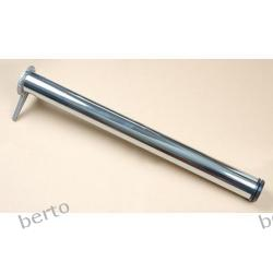 NOGA DO STOŁU  kolor aluminium H=820,  Przesyłka gabaryt B