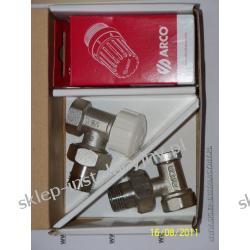 ARCO Zestaw termostatyczny kątowy - głowica + zawory