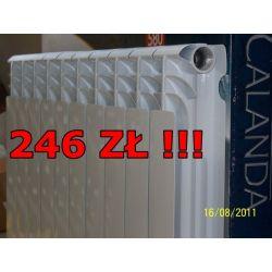 Grzejnik aluminiowy CALANDA 500 168W - najtańszy