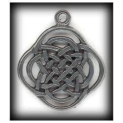 Węzeł celtycki czterech pór roku  - amulet Celtów. Amulet harmonii z przyrodą.