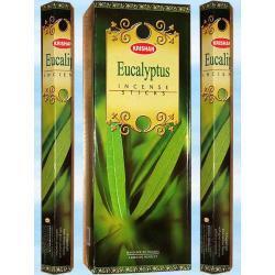 Eukaliptus  - 20 kadzidełek - odpreza, uzdrawia, odswieza i oczyszcza cialo i ducha