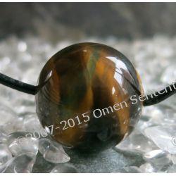 Talizman tygrysie oko - poświęcony i namaszczony amulet finansowy - zapewnia dobrobyt materialny i pomoc sił nadprzyrodzonych