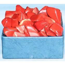 Jaspis czerwony 100 g - Oczyszcza kanaly energetyczne. Pomaga rozwinac intuicje i oczyscic nalecialosci karmiczne z poprzednich inkarnacji. Pomaga walczyc z problemami i usuwa uczucie strachu.