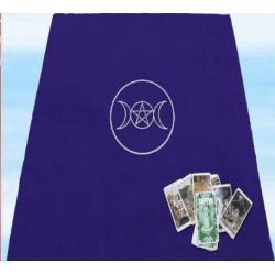 Obrus do rozkładania kart, rytuałów i zaklęć magicznych, na ołtarze - 80x80 cm