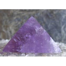 Piramida energetyczna Ametyst 100% naturalny -  tylko 1 sztuka - piękna, magiczna i naenergetyzowana