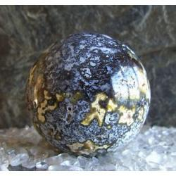 Chalcedon kula 71 mm 100% naturalny -  tylko 1 sztuka - piękna, magiczna i naenergetyzowana