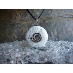 Sprzedany Wisior MAGNEZYT, celtycka spirala magiczna  - 100% naturalny -  tylko 1 sztuka - piękna, magiczna i naenergetyzowana