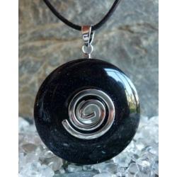 Wisior Noc Kairu, celtycka spirala magiczna  - 100% naturalny -  tylko 1 sztuka - piękna, magiczna i naenergetyzowana