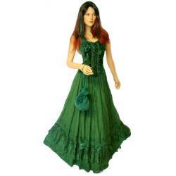 Spodnica do praktyk magicznych  rozmiar: 38-42 - zielona