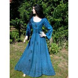 Suknia średniowieczna do praktyk magicznych S,M,L,XL, XXL różne kolory