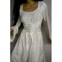 Suknia średniowieczna do praktyk magicznych S,M,L,XL - różne kolory