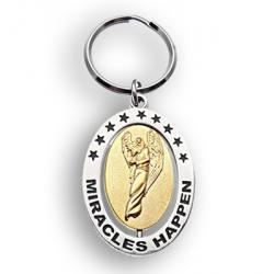 Zawieszka do kluczy, torby - zdarzą się cuda -  Miracles Happen
