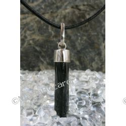 Talizman ochronny przed utratą energii, wampirami, czarną magią, klątwa, urokiem, czarny turmalin Schörl - 100% naturalny