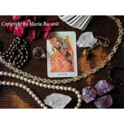 THOTH TAROT Crowley -  karty poświęcone i namaszczone NAJNOWSZA EDYCJA kart