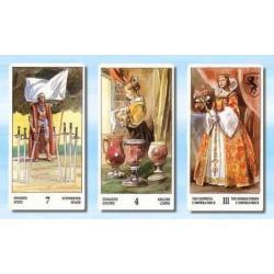 Karty Tarota tzw. renesansowe 44 x 80 mm - Giorgio Trevisan