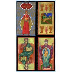 78 kart A. Atanassova - złoty Tarot Carów - cudowne karty inspirowane rosyjskimi ikonami