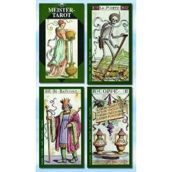 Tarot Mistrzów Vacchetta - 78 kart - 66 x 120 mm - karty poświęcone i namaszczone