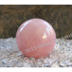 Kula aktywująca miłość z kwarcu różowego do medytacji, modlitwy, na ołtarz magiczny