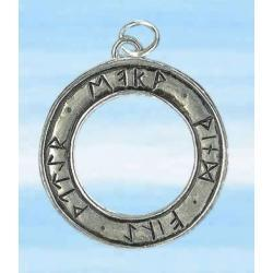 Srebrny amulet runiczny dla czarownic i magów - dodaje siły, mocy, pomaga w praktyce