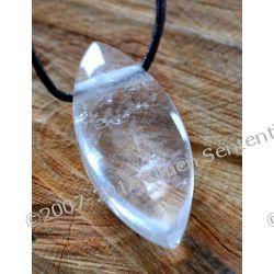 Kryształowe oczyszczanie - Talizman oczyszczający aurę, usuwania blokad i negatywnych wibracji od Marii Bucardi na krysztale górskim