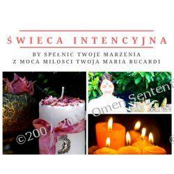 Rytuał 11.1.2018 - świeca intencyjna, by spełnić Twoje marzenia i usunąć problemy 1 świeca = 1 intencja - rytuał wykonuje osobiście Maria Bucardi