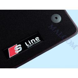 S LINE AUDI A3 2003--DYW. WEL.POLYAMIDOWE NA GUMIE Gumowe