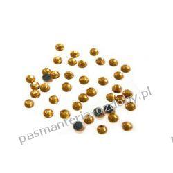 DŻETY termoprzylepne SS10 3 mm -1g (80szt) - złoty Przedmioty do ozdabiania