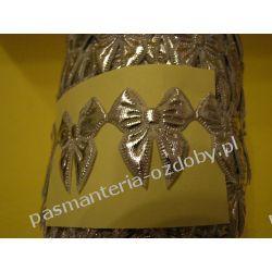 APLIKACJE -KOKARDKI T22 - 0,5 metra - srebrny Akcesoria i gadżety