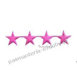 APLIKACJE Gwiazdki pełne wz98 - amarantowy Przedmioty do ozdabiania