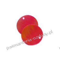 CEKINY TĘCZOWE KOŁA 20mm 6g(około 55szt) - czerwony Akcesoria i gadżety