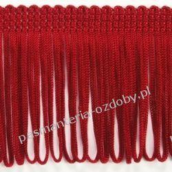 FRĘDZLE czerwone 8cm/0,5  np. do sukienki, bluzki