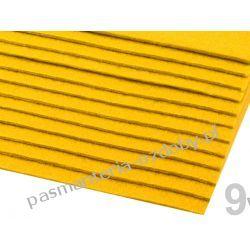 FILC sztywny -ark.20x30cm/2-3mm 416g/m2 - żółty Koraliki i cekiny