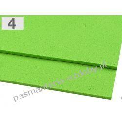 PIANKA DO DEKORACJI 2 mm arkusz 20x30cm - jasny zielony